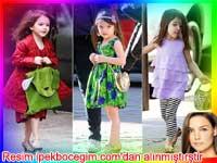 Katie Holmes'ün kızı ve çocuk giyimi nasıl olmalı